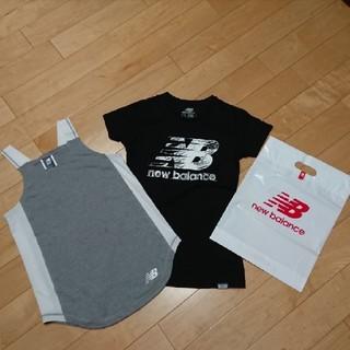 ニューバランス(New Balance)のNBニューバランス半袖Tシャツタンクトップレディースセット(Tシャツ(半袖/袖なし))