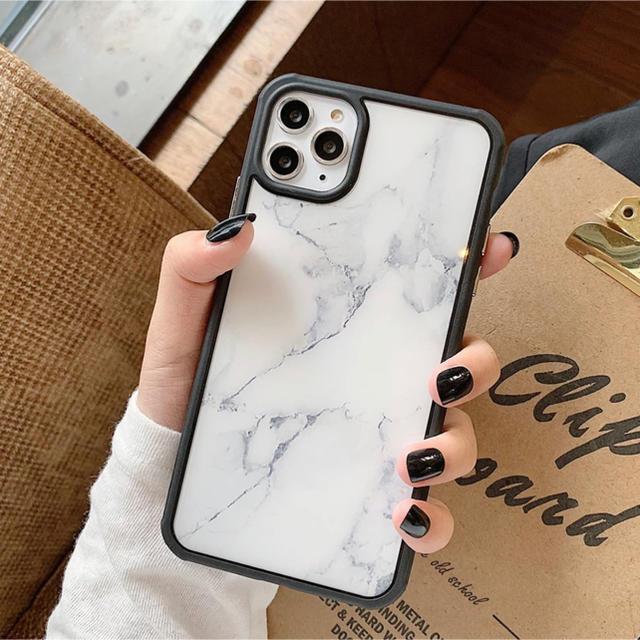シャネル 香水 iphone - 大理石調✩iPhone11 proケース カバーの通販 by sekari's|ラクマ