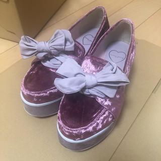 メリージェニー(merry jenny)のmerry jenny 厚底ローファー(ローファー/革靴)