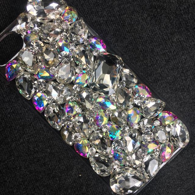 iphone6ケース専門店 / キラキラガラスビジュースワロフスキーiPhoneカバースマホケースの通販