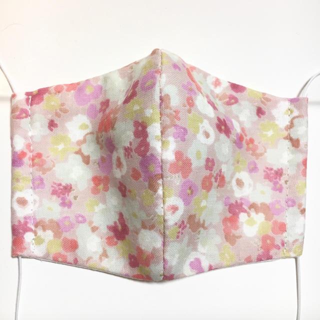 超立体マスク janコード - ハンドメイド 立体マスク 花柄 ピンクの通販