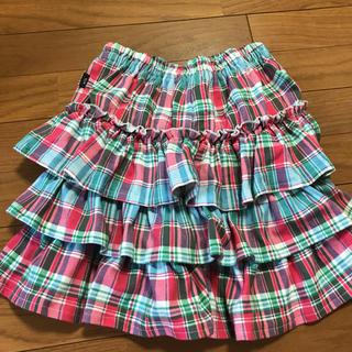 ベルメゾン - スカート フリルパンツ 150