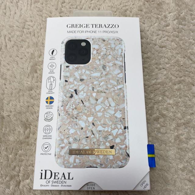 Adidas iPhone 11 ケース かわいい | 【未使用】iDEAL 大理石 マーブル iphone11proスマホケースの通販 by さーちゃん's shop|ラクマ