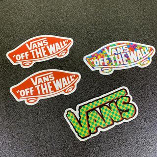 """ヴァンズ(VANS)の【検品済輸入品】 4枚セット VANS """"OFF THE WALL"""" ステッカー(ステッカー)"""