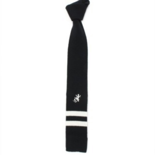 agnes b.(アニエスベー)のお値下げ⭐︎アニエスベー ニットネクタイ キッズ/ベビー/マタニティのキッズ服男の子用(90cm~)(ドレス/フォーマル)の商品写真