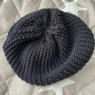アズールバイマウジー(AZUL by moussy)のAZULby moussyニットベレー帽(ハンチング/ベレー帽)
