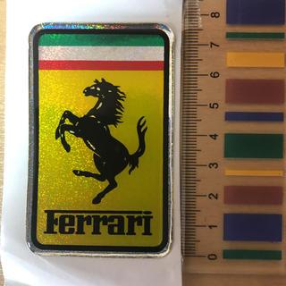 Ferrari - フェラーリ Ferrari ホログラム エンブレム 3D 高級 テスタロッサ
