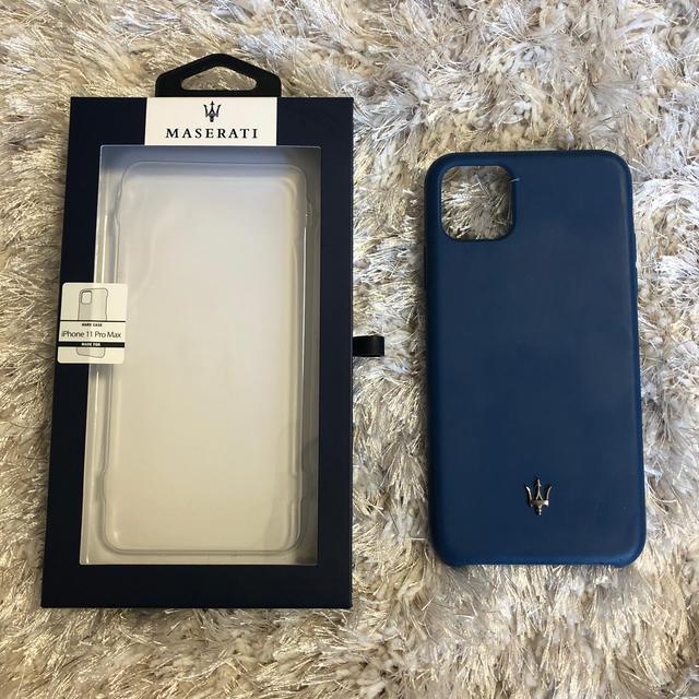 ルイヴィトン iPhone 11 ProMax ケース おすすめ - MASERATI iPhone 11 Pro Max シリコンケース の通販 by ポニョ0620's shop|ラクマ