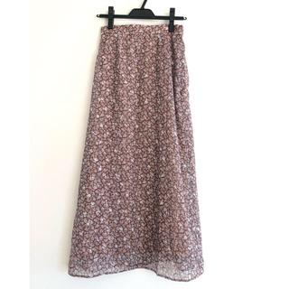 カージュ(Khaju)の【ゆーこすさん専用】khaju♡ 花柄ロングスカート(ロングスカート)