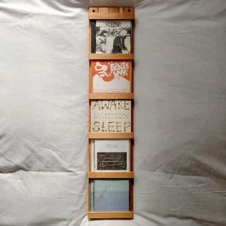 ムジルシリョウヒン(MUJI (無印良品))のsold out!無印良品 MUJI CD ディスプレイ 無垢材 天然木(CD/DVD収納)
