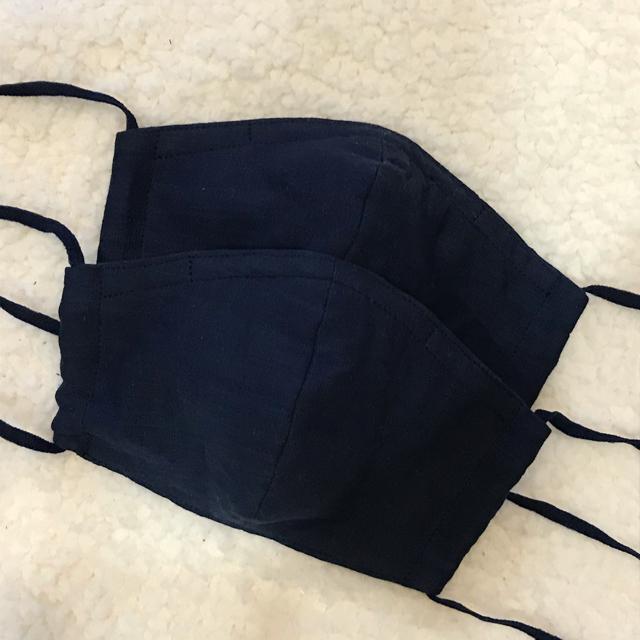 ハンドメイド ふんわりガーゼ マスク 大人用 2枚セット 【受注生産】の通販
