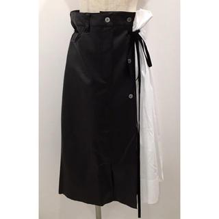 リルリリー(lilLilly)のLilLilly リルリリー ハーフコンビネーションスカート(ひざ丈スカート)