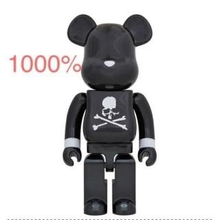 メディコムトイ(MEDICOM TOY)のBE@RBRICK mastermind BLACK CHROME 1000%(その他)