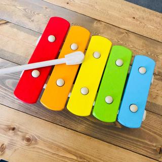 ボーネルンド(BorneLund)のpintoy / 木琴おもちゃ(楽器のおもちゃ)