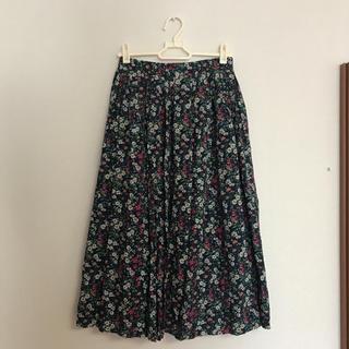 ドットアンドストライプスチャイルドウーマン(Dot&Stripes CHILDWOMAN)のchild women 花柄ロングスカート (ロングスカート)