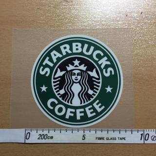 スターバックスコーヒー(Starbucks Coffee)のスターバックス STERBUCKS Tシャツ貼り付け用 アイロン ラバープリント(Tシャツ/カットソー(半袖/袖なし))