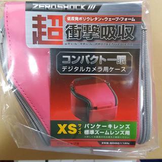 エレコム(ELECOM)の《XSサイズ》コンパクトデジタル一眼レフカメラケース (ピンク)(ケース/バッグ)