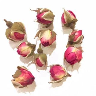 ハンドメイド素材パーツ薔薇ドライフラワー蕾つぼみ薔薇の花びらバラばら(ドライフラワー)