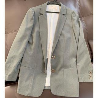 トランテアンソンドゥモード(31 Sons de mode)の春グレー♡テーラードジャケット(テーラードジャケット)