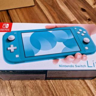 Nintendo Switch Lite ターコイズ ニンテンドーSwitch(家庭用ゲーム機本体)