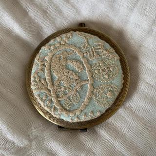 ミナペルホネン(mina perhonen)の▪️ミナペルホネン コンパクト鏡 ハンドメイド(ミラー)