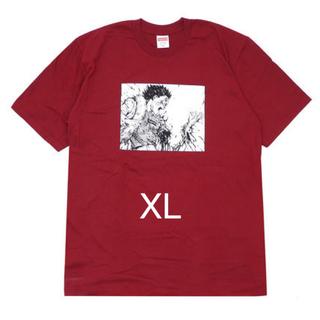 シュプリーム(Supreme)のsupreme AKIRA ARM Tee XL cardinal box(Tシャツ/カットソー(半袖/袖なし))