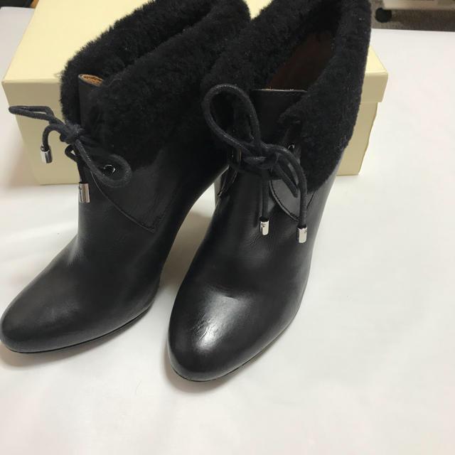 COACH(コーチ)の正規品★COACH/コーチのショートブーツ★サイズ7B/24cmブラック レディースの靴/シューズ(ブーツ)の商品写真