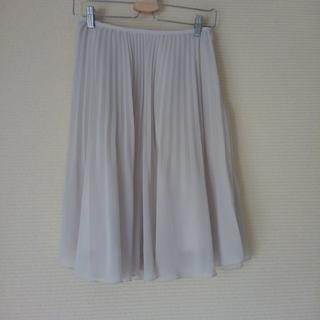 ナチュラルビューティーベーシック(NATURAL BEAUTY BASIC)のプリーツスカート(ひざ丈スカート)