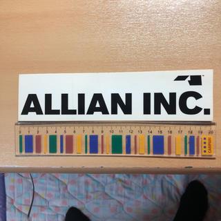 アライアン(ALLIAN)のアライアン インシュアランス ステッカー スノーボード(ボード)