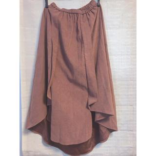 レトロガール(RETRO GIRL)のRETRO GIRL アシンメトリー スカート(ひざ丈スカート)