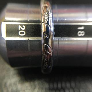 ヴァンクリーフアンドアーペル(Van Cleef & Arpels)のPt950 ヴァンクリ リング19号アップ 7.2g(リング(指輪))