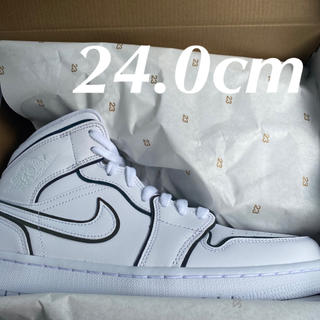 ナイキ(NIKE)の24.0cm wmns Nike Air Jordan 1 Mid SE(スニーカー)