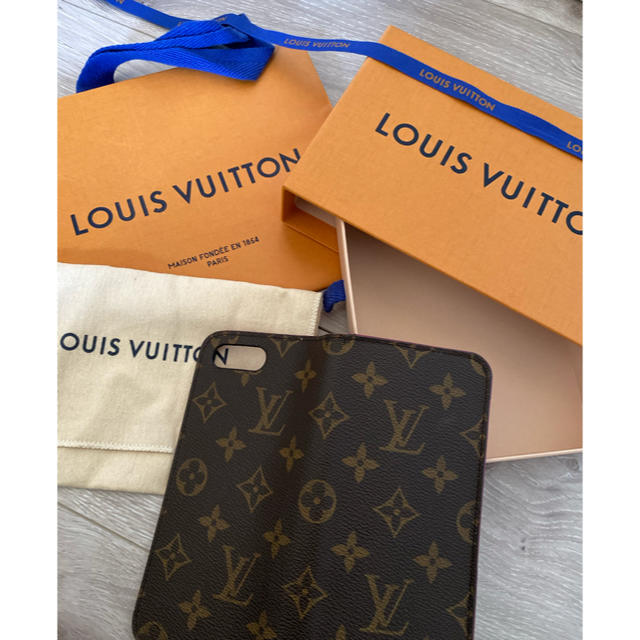 LOUIS VUITTON - LV  iPhoneケース8Plusの通販