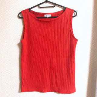 プラステ(PLST)のプラステ ノースリーブ(シャツ/ブラウス(半袖/袖なし))