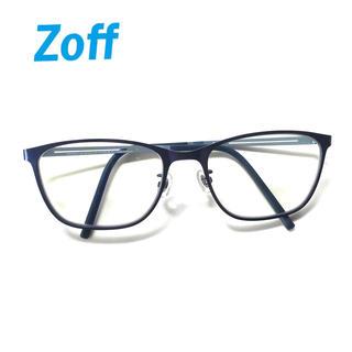 ゾフ(Zoff)のPC眼鏡 Zoff ゾフ ブルーライトカット 度なし 美品(サングラス/メガネ)