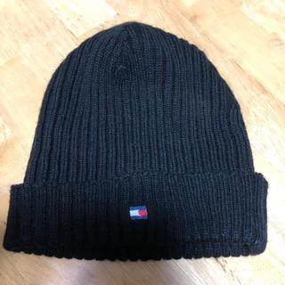 トミーヒルフィガー(TOMMY HILFIGER)のニット帽(即購入OK)(ニット帽/ビーニー)
