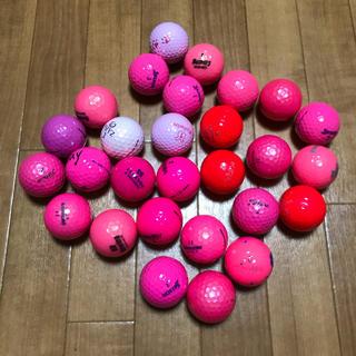 NIKE - 【♡ピンク系、S〜ABランク、ロストボール】★28個★
