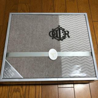 クリスチャンディオール(Christian Dior)の【新品】クリスチャンディオール ボアシーツ 140×240cm(シーツ/カバー)