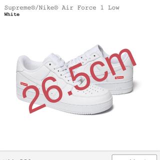 シュプリーム(Supreme)のSupreme Nike Air Force 1 White 白(スニーカー)