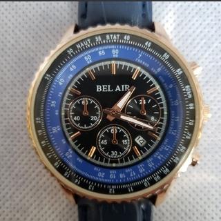 ★正規BELAIR腕時計★パイロットブライトリングタイプ高級時計(腕時計(アナログ))