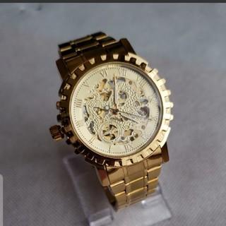 新入荷 希少 フルスケルトン自動巻き腕時計 海外高級アンティーク(腕時計(アナログ))