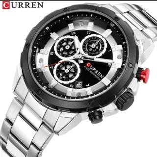 正規CURREN 海外限定 腕時計ファッションスポーツクォーツメンズウォッチ(腕時計(アナログ))