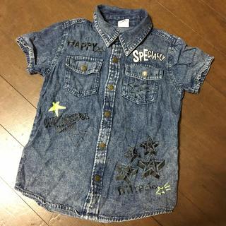 アナップキッズ(ANAP Kids)のアナップキッズ  デニムシャツ  110(Tシャツ/カットソー)