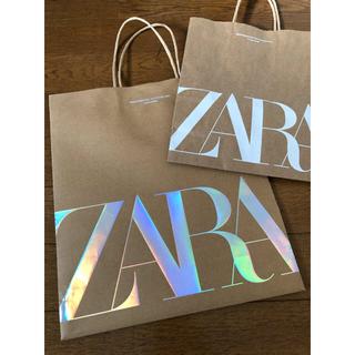 ザラ(ZARA)のZARA キラキラショップ袋 計3点(ショップ袋)