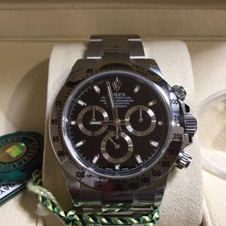 ロレックス(ROLEX)の生産終了モデル・デイトナ116520並行品デットストックです。本体(腕時計(アナログ))