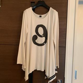 ダブルスタンダードクロージング(DOUBLE STANDARD CLOTHING)のダブルスタンダード D4S ホワイト Aライン カットソー ダブスタ sov.(カットソー(長袖/七分))