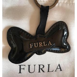 フルラ(Furla)の【 SALE ‼️】 Furla❤️フルラ❤️リボン型チャーム キーホルダー(チャーム)