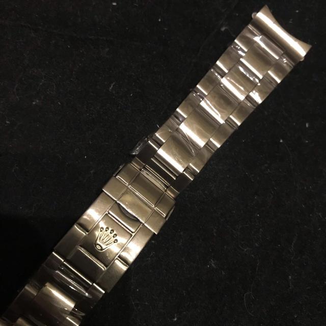 時計ベルト ラグ20mm  ブレス ステンレスシルバーの通販