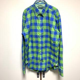 カルヴェン(CARVEN)の美品!CARVEN カルヴェン ブロックチェックシャツ(シャツ)