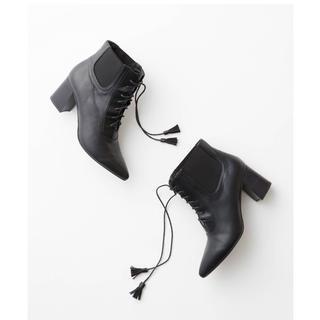 シュープリームララ(Supreme.La.La.)のSupreme.la.la サイドゴア ショートブーツ(ブーツ)